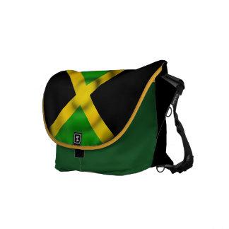 Sac messenger à Rickshaw de drapeau de la Jamaïque Besaces