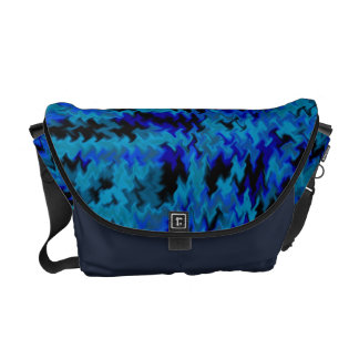sac messenger bleu à Rickshaw de fureur de camo Sacoches