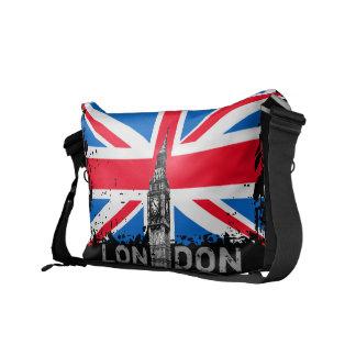 Sac messenger BRITANNIQUE à drapeau de Londres Uni Besaces