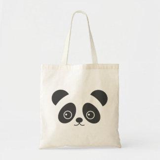 Sac mignon de panda pendant la vie