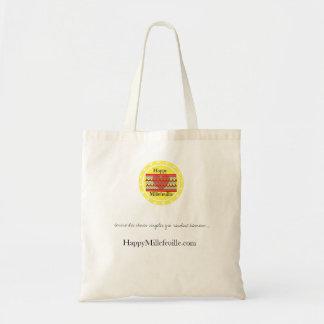 "Sac Mon premier Tote-Bag ""HappyMillefeuille"""