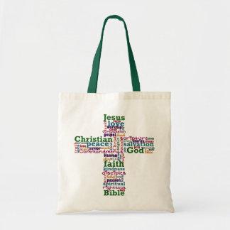 Sac Mot religieux chrétien Art Cross