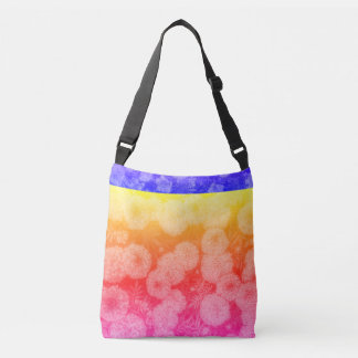 Sac multicolore de conception florale