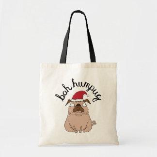 Sac Noël drôle Fourre-tout de carlin de Bah Humpug