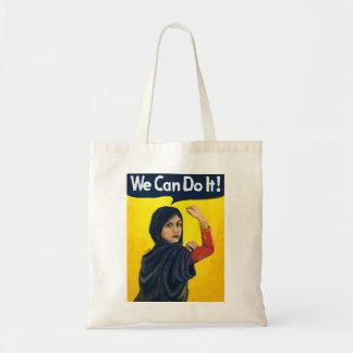 Sac Nous pouvons le faire, femme de Moyen-Orient