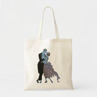 Sac Nouveaux mariés vintages d'art déco, danse de