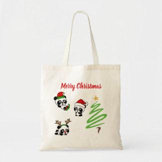 Sac Pandas de Noël