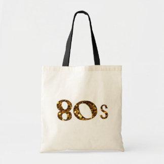 Sac parties scintillantes d'or de la nostalgie 80s