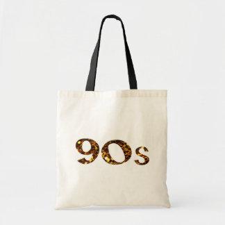 Sac parties scintillantes d'or de la nostalgie 90s