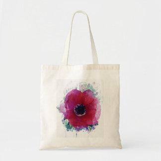 Sac Pavot rouge Fourre-tout romantique Bag| tous les