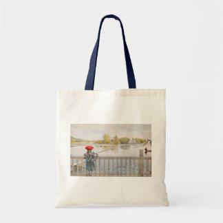 Sac Pêche de Lisbet par Carl Larsson, beaux-arts