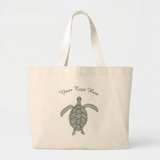 Sac personnalisé de tortue de mer