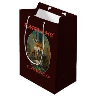 Sac pimpant de cadeau d'habillement de Fox