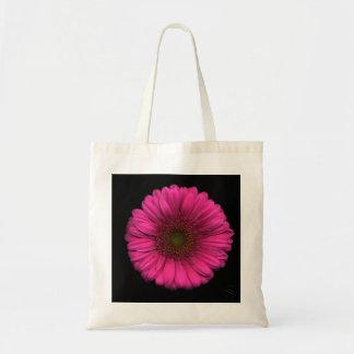 Sac Plantes sur des emballages - marguerite rose