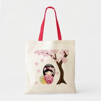 Sac Poupée de Kokeshi de ressort - fille de geisha