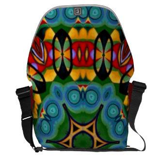"""Sac """"pour aquarelle"""" tribal d'ordinateur portable besace"""