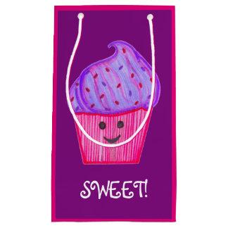 Sac pourpre et rose de WhassupCake de petit gâteau