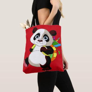 Sac précieux d'impression de panda partout -