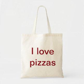 Sac Quand vous êtes un amant de pizza portez le long