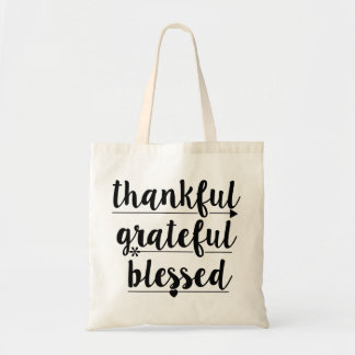 Sac reconnaissant reconnaissant béni