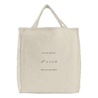 Sac : Remerciez votre professeur de maths