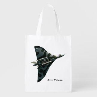 Sac Réutilisable Bombardier d'aile delta d'Avro Vulcan
