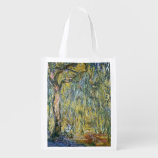 Sac Réutilisable Claude Monet | le grand saule chez Giverny, 1918
