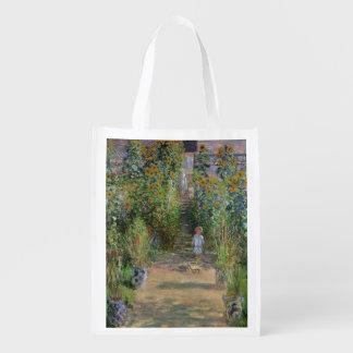 Sac Réutilisable Claude Monet   le jardin de l'artiste chez