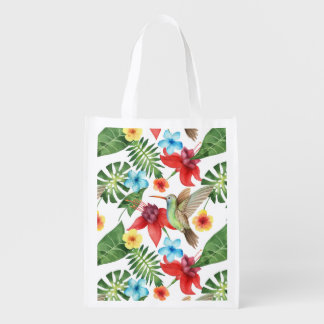 Sac Réutilisable Colibri tropical
