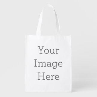 Sac Réutilisable Créez votre propre sac d'épicerie réutilisable