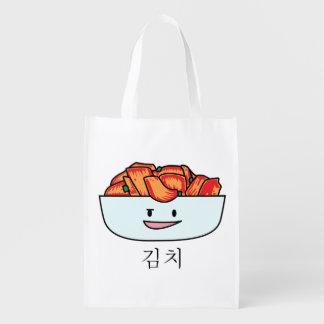 Sac Réutilisable Cuvette heureuse de Kimchi Kimchee - conceptions