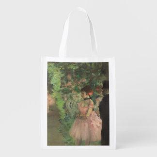 Sac Réutilisable Danseurs d'Edgar Degas   à l'arrière plan,