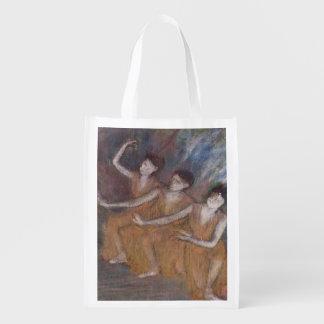 Sac Réutilisable Danseuses d'Edgar Degas | Trois