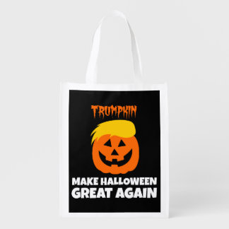 Sac Réutilisable Donald Trumpkin rendent Halloween grand encore