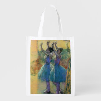 Sac Réutilisable Edgar Degas | deux danseurs bleus