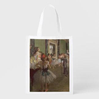 Sac Réutilisable Edgar Degas | la classe de danse, c.1873-76