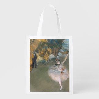 Sac Réutilisable Edgar Degas   l'étoile, ou danseur sur l'étape
