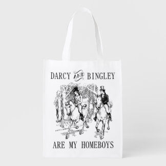 Sac Réutilisable Fierté et sac fourre-tout à M. Darcy et à M.