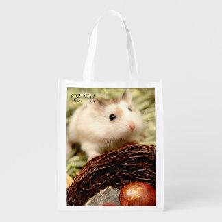 Sac Réutilisable Hammyville - hamster mignon
