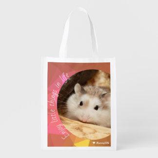 Sac Réutilisable Hammyville - le hamster mignon apprécient de