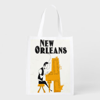 Sac Réutilisable Honky Tonk de la Nouvelle-Orléans
