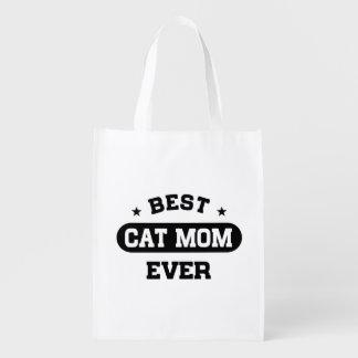 Sac Réutilisable La meilleure maman de chat jamais