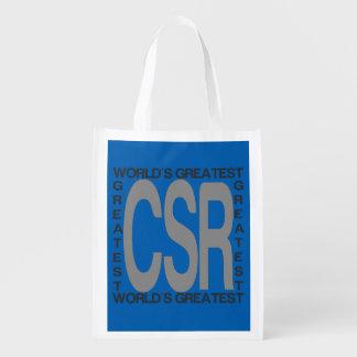 Sac Réutilisable Le plus grand CSR des mondes