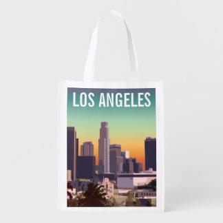 Sac Réutilisable Los Angeles du centre - image personnalisable
