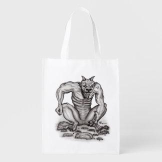 Sac Réutilisable Mélange-Créature - Troll, Golem et diable