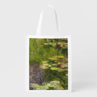 Sac Réutilisable Nénuphars de Claude Monet |