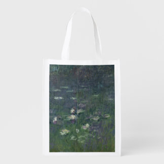 Sac Réutilisable Nénuphars de Claude Monet | : Matin, 1914-18