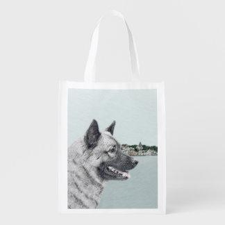 Sac Réutilisable Norvégien Elkhound