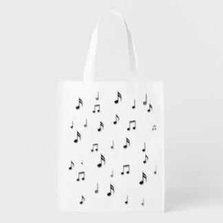 Sac Réutilisable Notes musicales