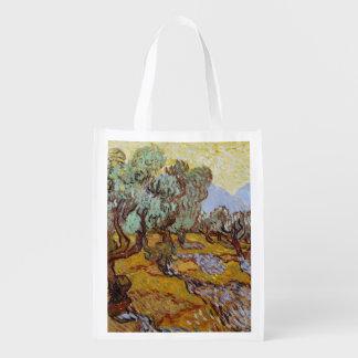 Sac Réutilisable Oliviers de Vincent van Gogh  , 1889